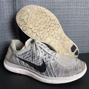 Nike Free 4.0 Flyknit Running Shoes 717075-005
